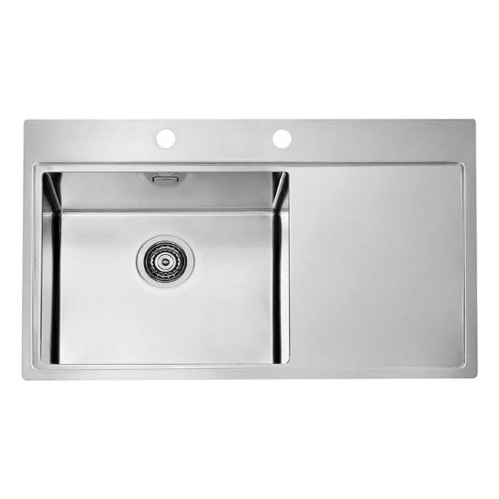 Мойка кухонная Alveus Pure 50L KMB нержавеющая сталь (1103652)