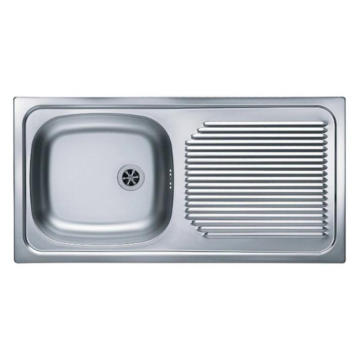 Мойка кухонная Alveus Basic 60 нержавеющая сталь (1009181)