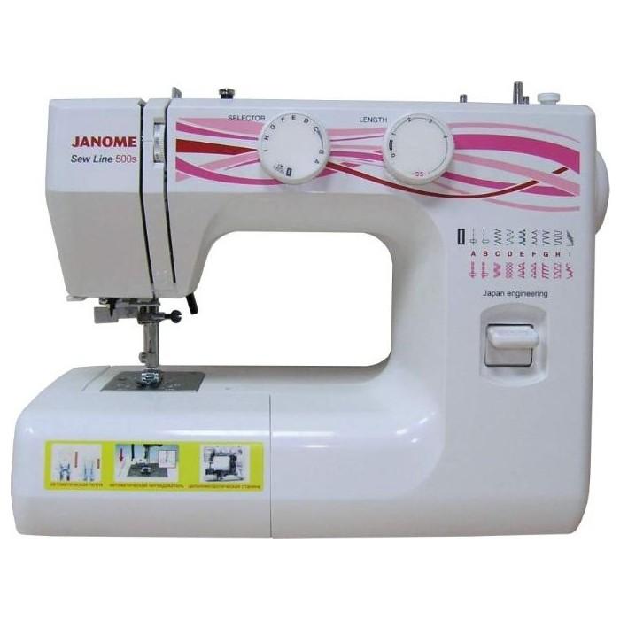 Швейная машина Janome SEW LINE 500S