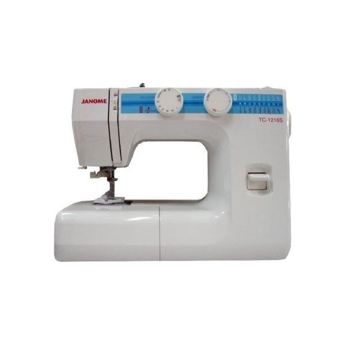 Фото - Швейная машина Janome TC-1216S швейная машина janome tc 1218 белый