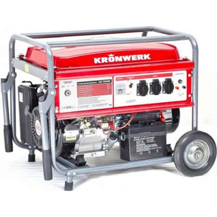 Генератор бензиновый KRONWERK LK 7500E
