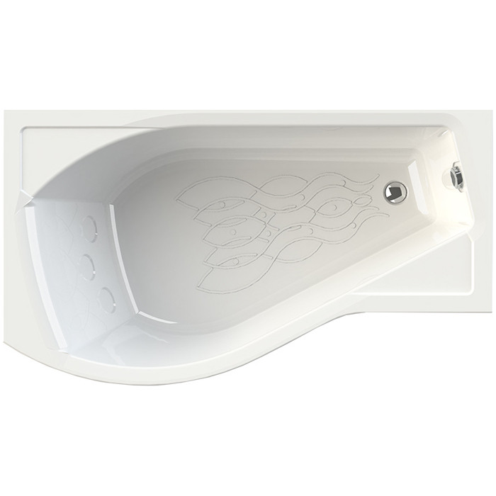 Акриловая ванна Radomir Vannesa Миранда 170х95 левая, с каркасом (2-01-0-1-1-209)