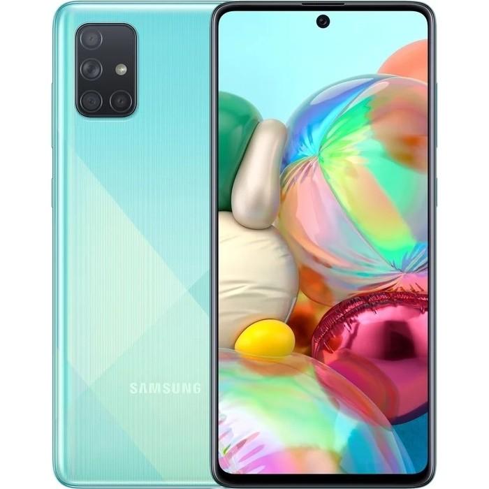Смартфон Samsung Galaxy A71 6/128GB Blue (SM-A715F)