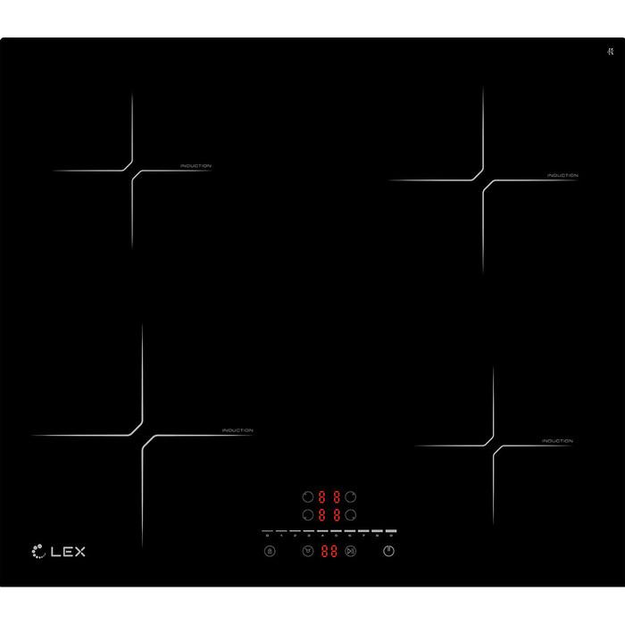 Индукционная варочная панель Lex EVI 640-2 BL