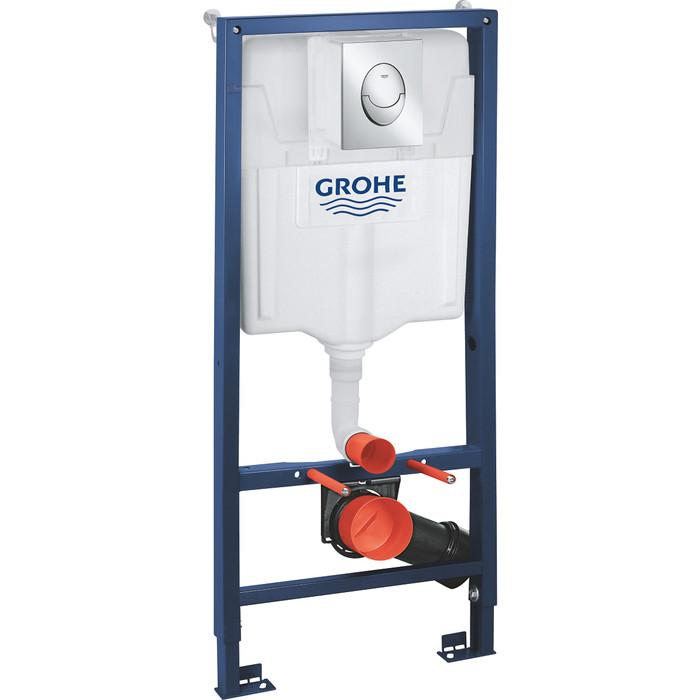 Инсталляция для унитаза Grohe Rapid SL с клавишей 3 в 1 (39503000)