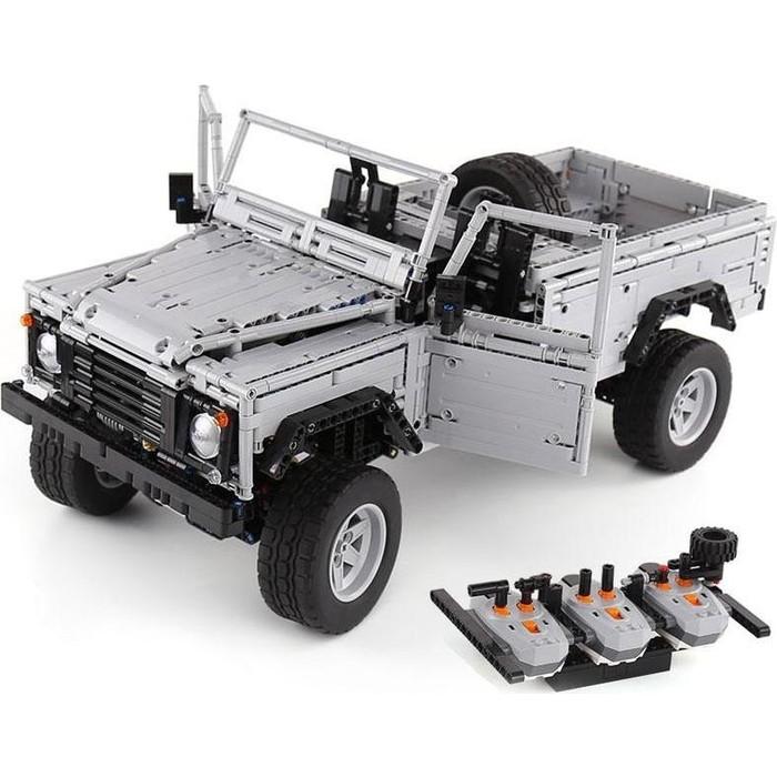 Конструктор Lepin Technics 23003 Land-Rover Defender - Technic 0580 конструктор lepin technics 20007 моторизированный экскаватор