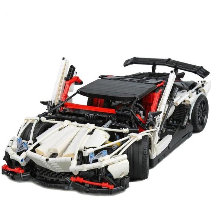 Конструктор Lepin Technics 23006 Lamborghini Aventador LP 720-4 - Technic 3918 конструктор lepin technics 20007 моторизированный экскаватор