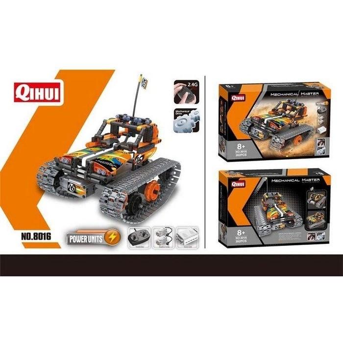 Радиоуправляемый конструктор QiHui Stunt Car (392 детали) - QH8016