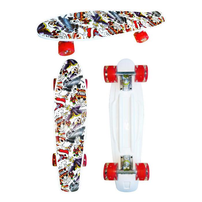 Скейт пластиковый Navigator пластиковые колеса полиуретан Т17034
