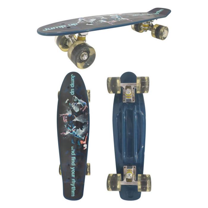 Скейт пластиковый Navigator пластиковые колеса полиуретан Т17035