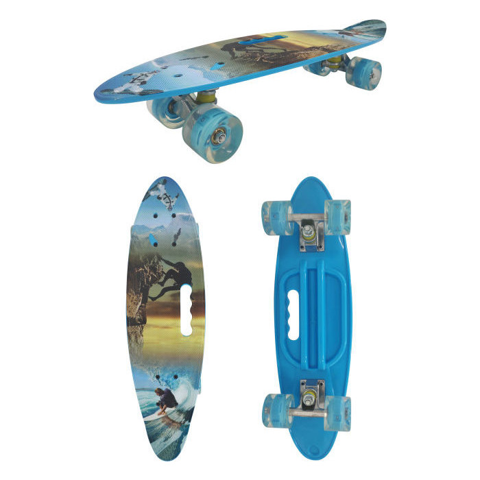 Скейт пластиковый Navigator пластиковые колеса полиуретан Т17038