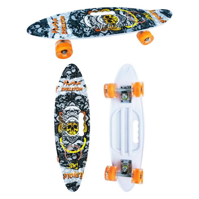 Скейт пластиковый Navigator пластиковые колеса полиуретан Т17039