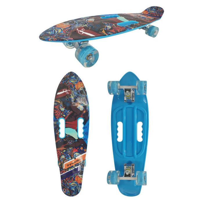 Скейт пластиковый Navigator пластиковые колеса полиуретан Т17043