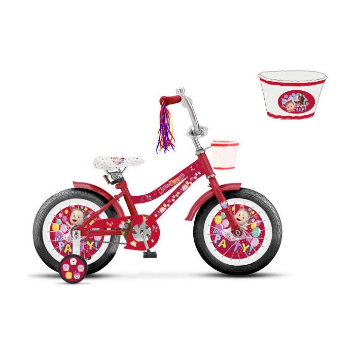 цена на Велосипед 2-х колесный Маша и Медведь колеса 16 ВН16166