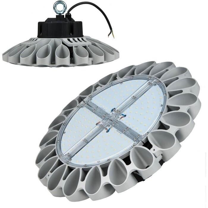 Подвесной светодиодный светильник Uniel ULY-U30B-100W/DW IP65 Silver