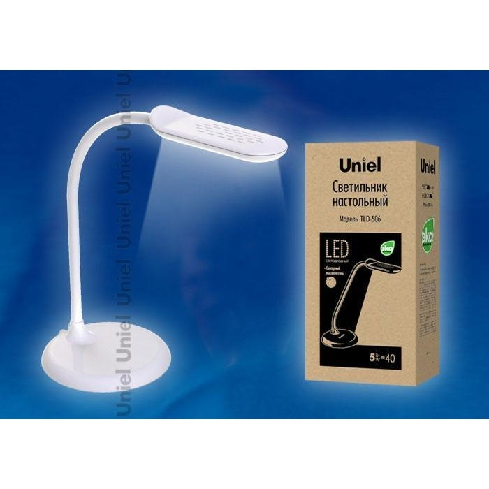Настольная лампа Uniel TLD-506 White/LED/550Lm/5000K