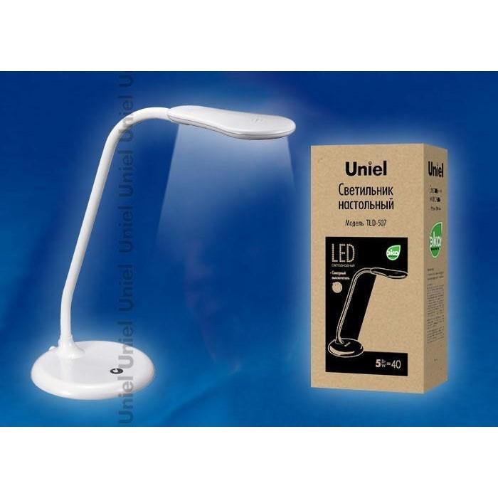 Настольная лампа Uniel TLD-507 White/LED/550Lm/5000K