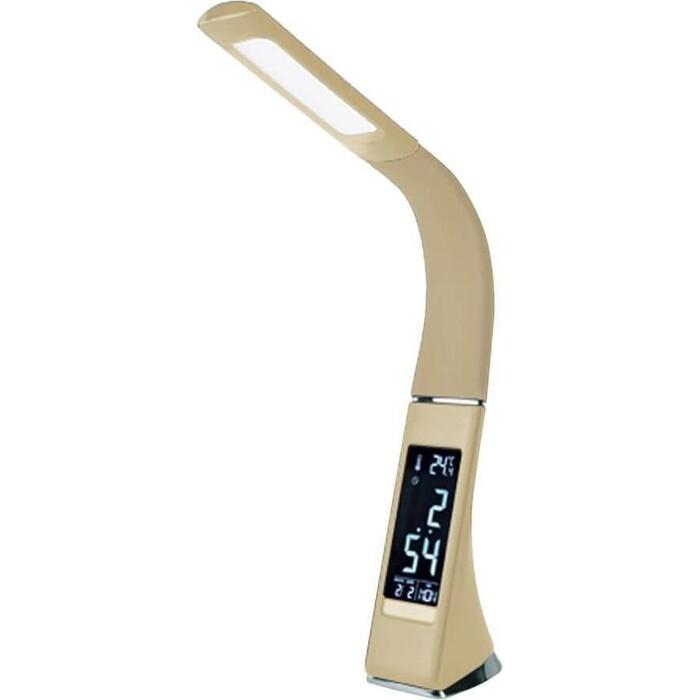 Настольная лампа Uniel TLD-542 Cream/LED/300Lm/5000K/Dimmer