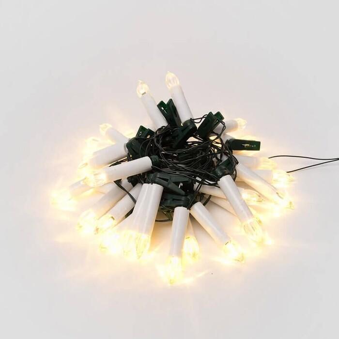 Светодиодная гирлянда Uniel ULD-S0600-030/SGA Warm White IP20 Candles