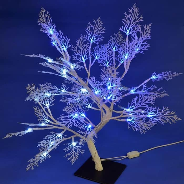 Светодиодное дерево Uniel ULD-T3550-054/SWA WHITE-BLUE IP20 FROST