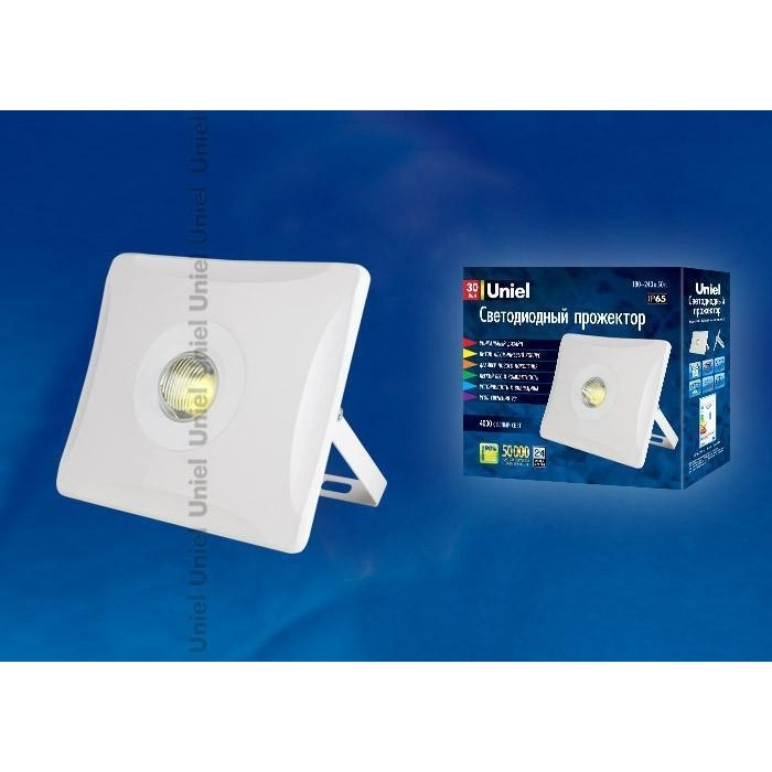 Прожектор светодиодный Uniel ULF-F11-30W/NW IP65 180-240B White