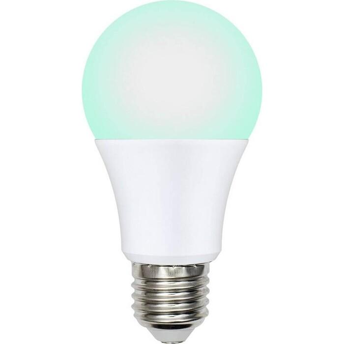 Фото - Лампа светодиодная диммируемая Uniel LED-A60-9W/SCBG/E27/FR/DIM IP65 PLO65WH лампочка uniel led a60 9w nw e27 fr alm
