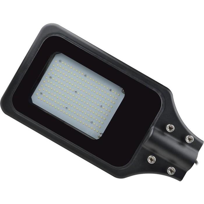 Уличный светодиодный светильник консольный Uniel ULV-R23H-150W/4000K IP65 Black светильник volpe уличный светодиодный консольный ul 00006084 ulv q610 30w 6500к ip65 black