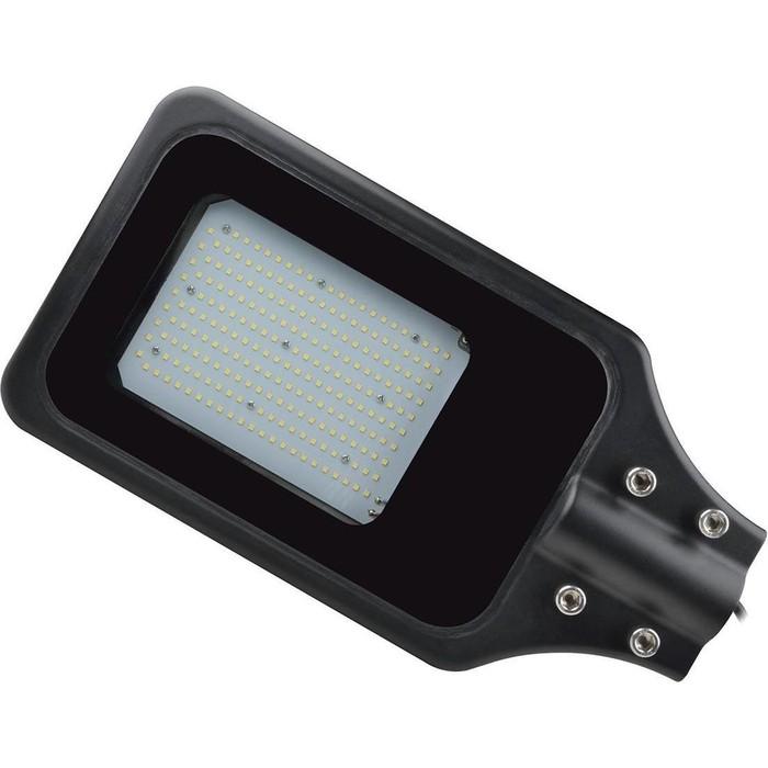 Уличный светодиодный светильник консольный Uniel ULV-R23H-100W/6000K IP65 Black