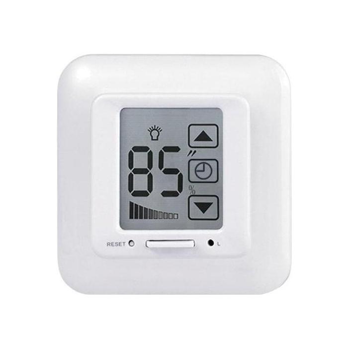 Диммер Uniel USW-001-LCD-DM-40/500W-TM-M-WH
