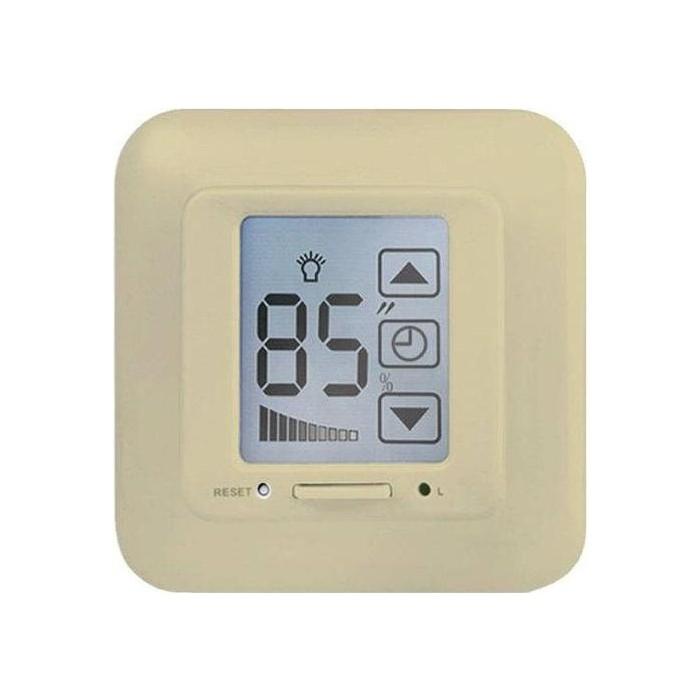 Диммер Uniel USW-001-LCD-DM-40/500W-TM-M-BG