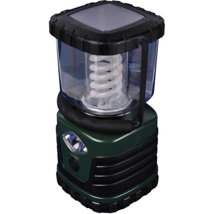 Кемпинговый энергосберегающий фонарь Uniel P-TL091-B Green