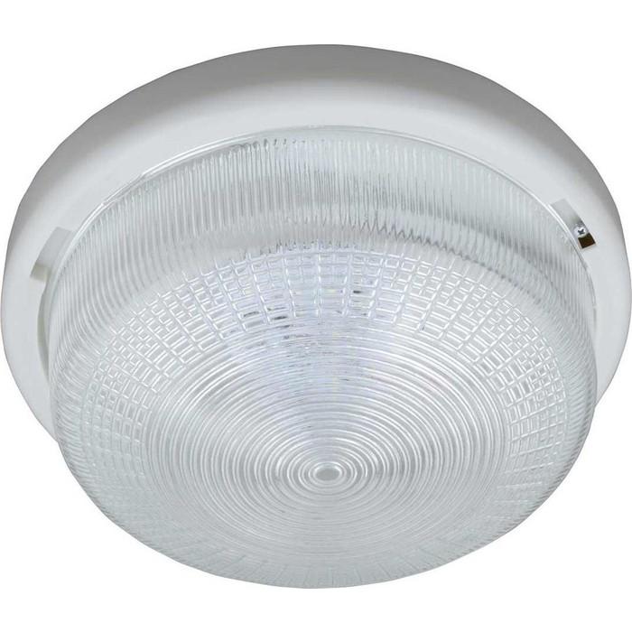 Потолочный светодиодный светильник Uniel ULO-K05A 6W/6000K/R24 IP44 White/Glass
