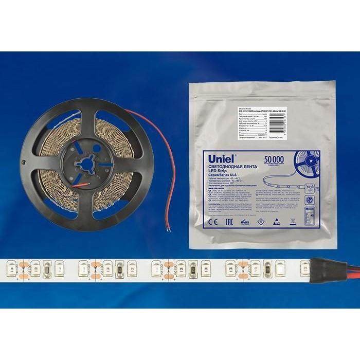 Светодиодная влагозащищенная лента Uniel ULS-2835-60LED/m-8mm-IP65-DC12V-9,6W/m-5M-DW