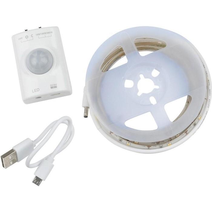 Светодиодная влагозащищенная лента Uniel ULS-R21-2,4W/4000K/1,0M/RECH SENSOR Smart Light