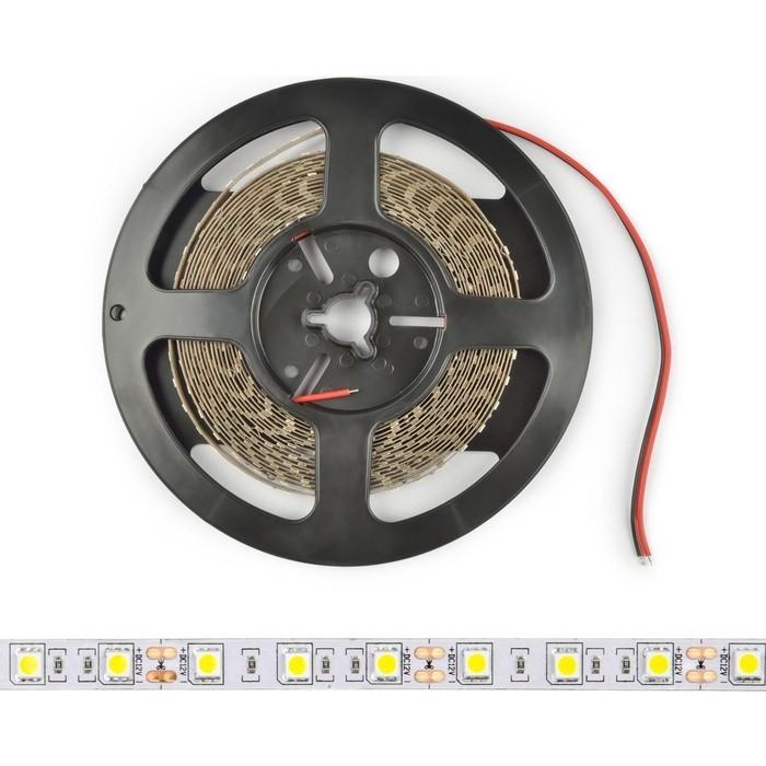 Светодиодная лента Uniel ULS-M25-5050-60LED/m-10mm-IP20-DC12V-14,4W/m-5M-4000K PROFI