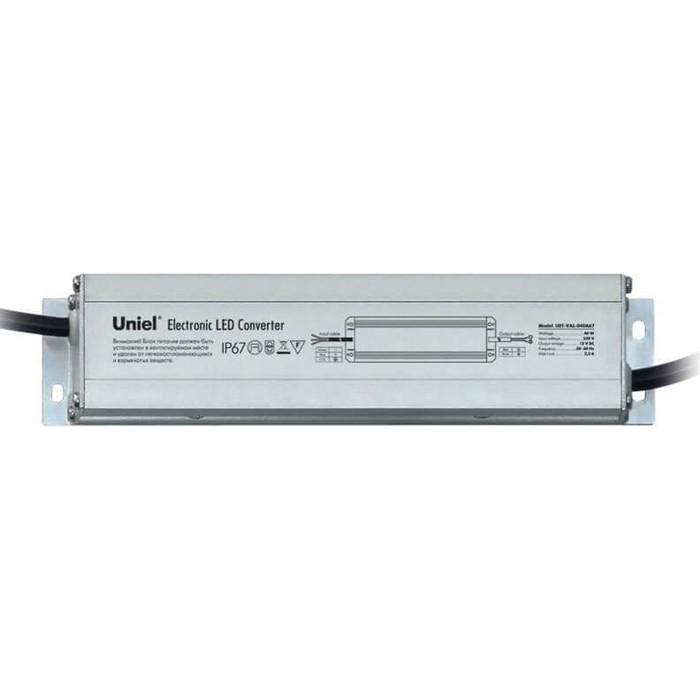 Блок питания для светодиодов Uniel UET-VAL-040A67