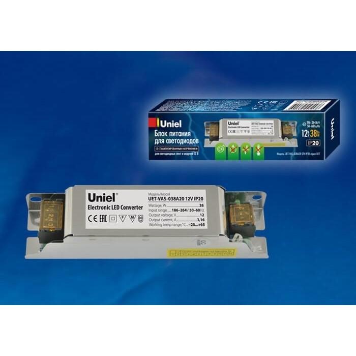 Блок питания Uniel UET-VAS-038A20 12V IP20