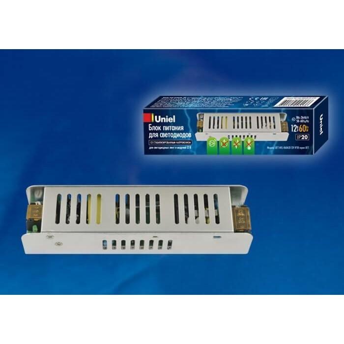 Блок питания Uniel UET-VAS-060A20 12V IP20