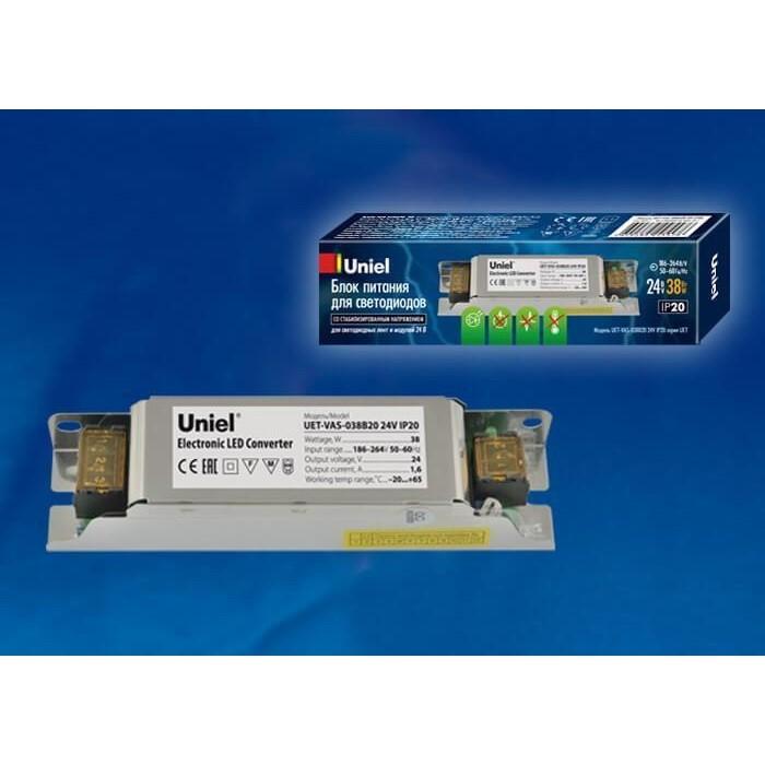 Блок питания Uniel UET-VAS-038B20 24V IP20