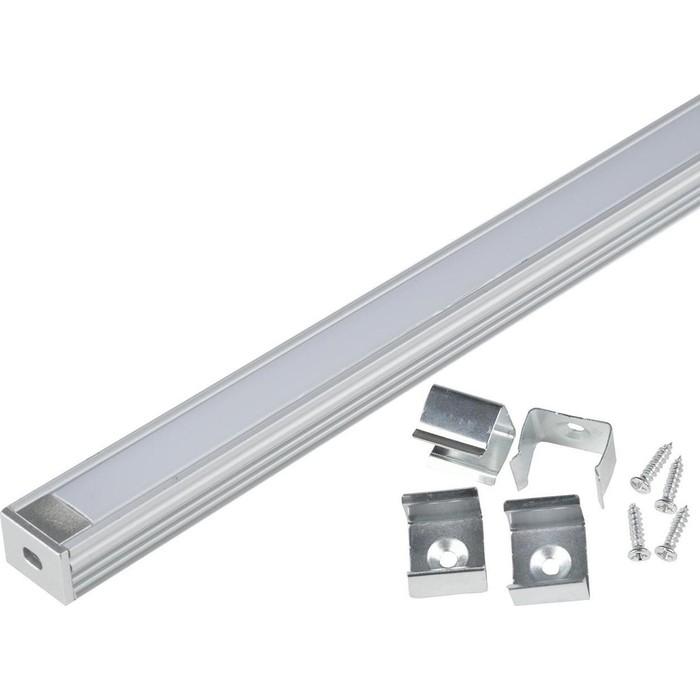 Профиль Uniel UFE-K10 Silver/Frozen 200 Polybag