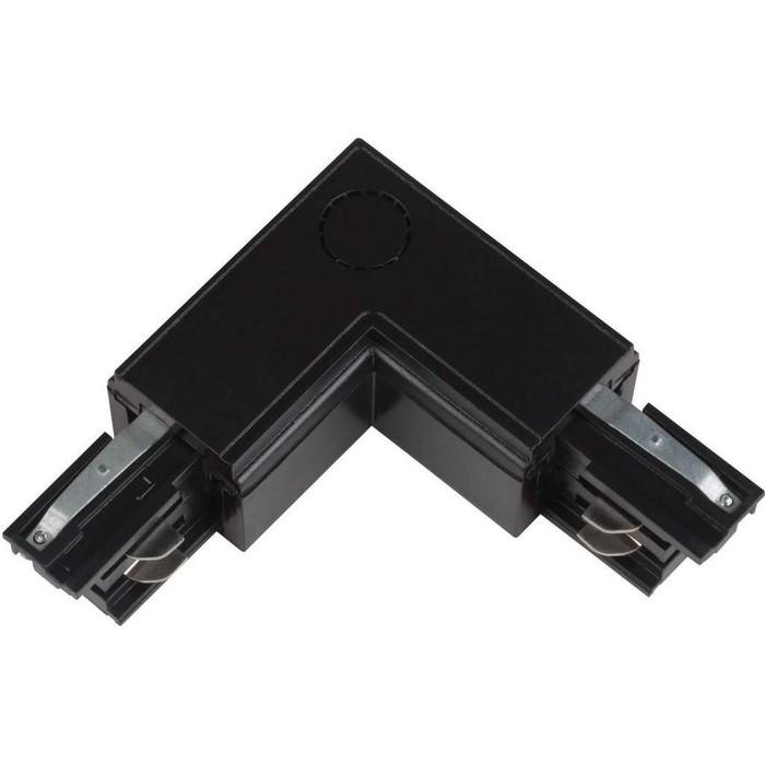 Соединитель для шинопроводов L-образный внешний Uniel UBX-A21 Black