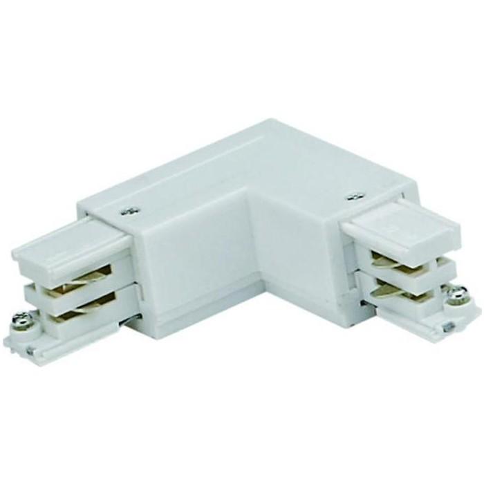 Соединитель для шинопроводов L-образный внешний Uniel UBX-A21 Silver
