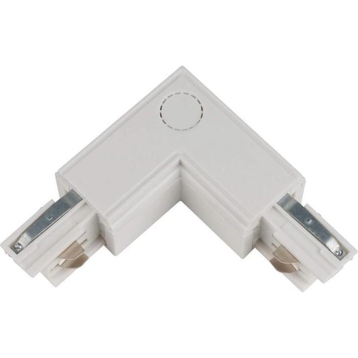 Соединитель для шинопроводов L-образный внутренний Uniel UBX-A22 White