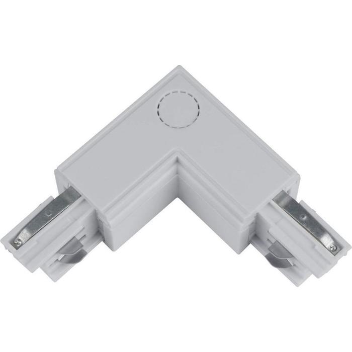 Соединитель для шинопроводов L-образный внутренний Uniel UBX-A22 Silver