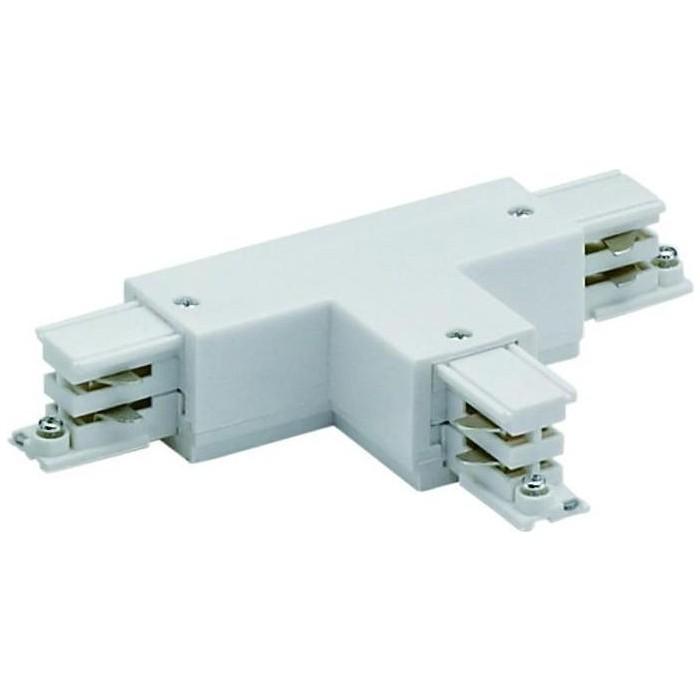 Соединитель для шинопроводов Т-образный, левый, внешний Uniel UBX-A32 White