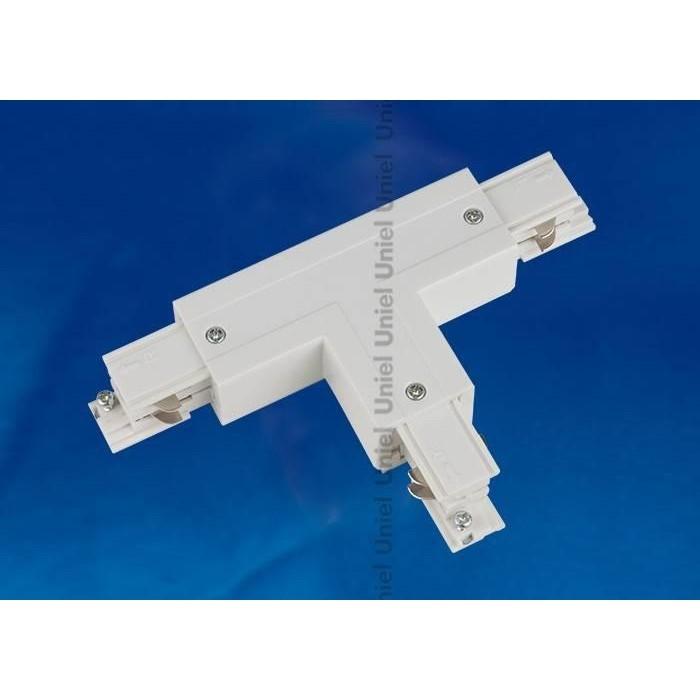 Соединитель для шинопроводов Т-образный, правый, внутренний Uniel UBX-A33 Silver