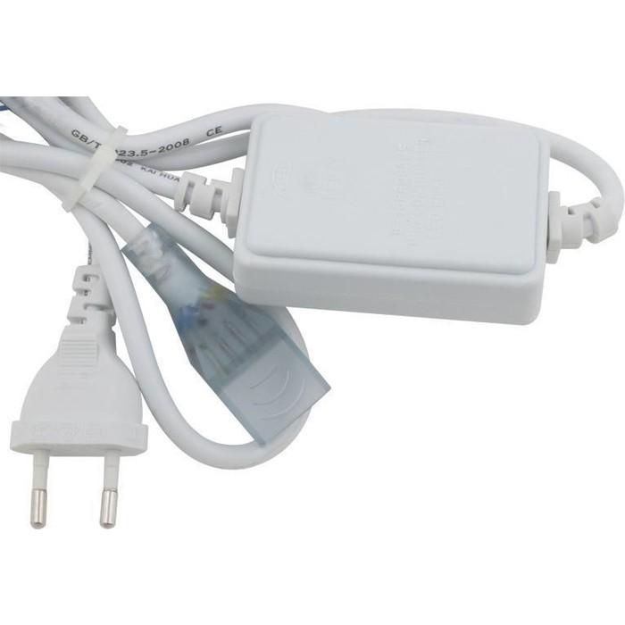 Шнур сетевой для светодиодной ленты Uniel UCX-SP4/B67-RGB White 1 Sticker