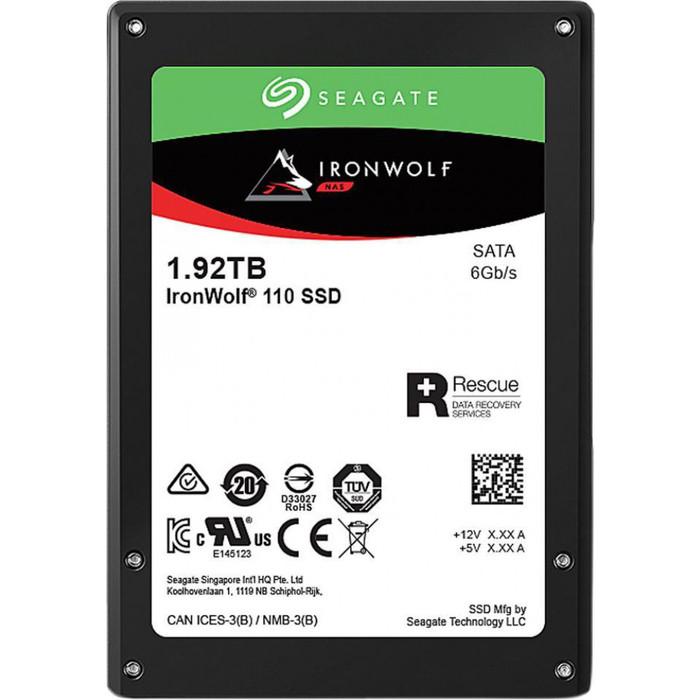 SSD накопитель Seagate 1920Gb IronWolf 110 SSD ZA1920NM10011 2,5