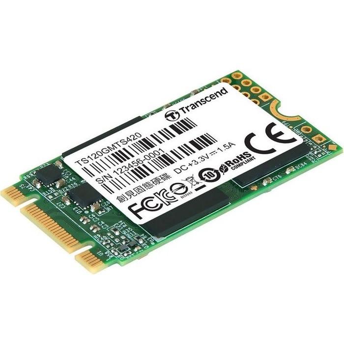 Фото - SSD накопитель Transcend 120Gb M.2 TS120GMTS420S ssd накопитель transcend ts120gmts820s 120gb m 2 2280 sata iii ssd ts120gmts820s