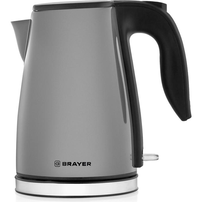 Фото - Чайник электрический BRAYER BR1042GY чайник brayer br1020